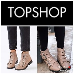 🆕️🌟Topshop AMELIA Studded Ankle Boots